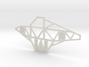 Full Metal Artist Designs KAMM-2 Chassis Plate in White Natural Versatile Plastic