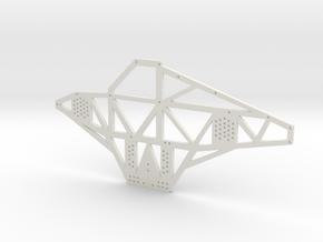 Full Metal Artist Designs KAMM-2 Chassis Plate in White Natural Versatile Plastic