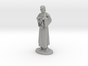 Presto the Magician Miniature in Raw Aluminum: 1:60.96