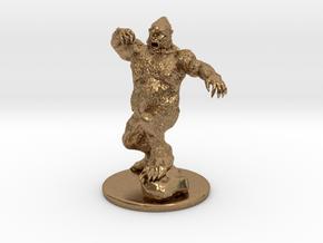 Yeti Miniature in Natural Brass: 1:60.96