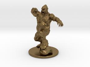 Yeti Miniature in Natural Bronze: 1:60.96