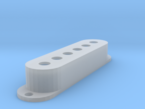 Strat PU Cover, Single, Classic in Smooth Fine Detail Plastic