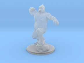 Yeti Miniature in Smooth Fine Detail Plastic: 1:60.96