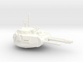 28mm Zerber APC turret  in White Processed Versatile Plastic