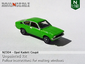 Opel Kadett Coupé (N 1:160) in Frosted Extreme Detail