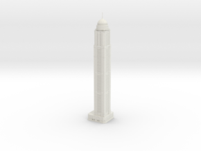 Princess Tower (1:1800) in White Natural Versatile Plastic