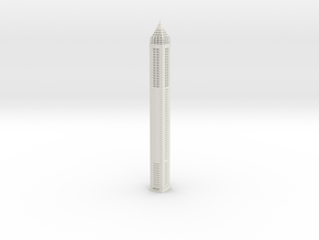 Gevora Hotel (1:1800) in White Natural Versatile Plastic