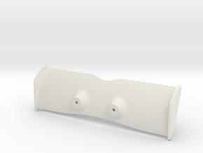 Aileron - Medium in White Natural Versatile Plastic