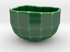 cafe au lait bowl in Gloss Oribe Green Porcelain