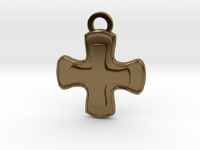 Healer Role Charm in Polished Bronze