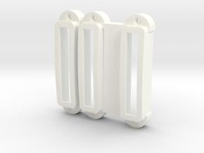 SG-12 Pickup cover set in White Processed Versatile Plastic