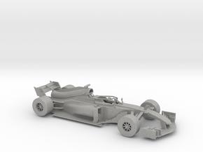 F1 2018 car 1:30 in Aluminum