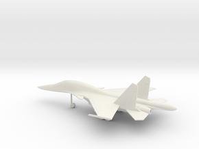 Sukhoi Su-34 Fullback in White Natural Versatile Plastic: 1:160 - N