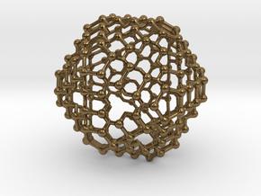 Icosatubed in Natural Bronze