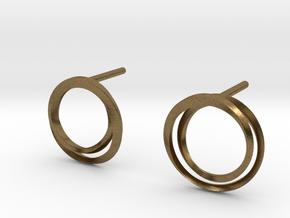 Laika earrings in Natural Bronze