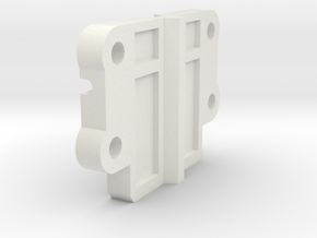 Tamiya M05 3racing Antiroll Bar Adapter Plate in White Natural Versatile Plastic