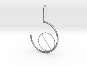 circleincircle in Natural Silver