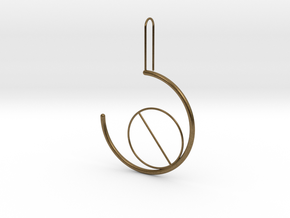 circleincircle in Natural Bronze