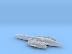Terran ship Vigilant in Smoothest Fine Detail Plastic