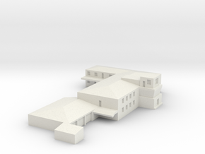 Airport Operations Building  in Natural Sandstone: 1:500