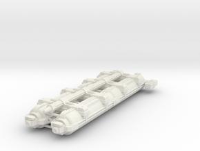 Omni Scale WYN Auxiliary Heavy Mauler SRZ in White Natural Versatile Plastic