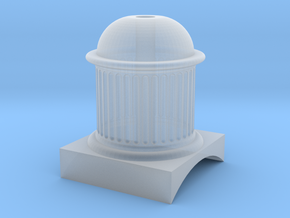 E. B. Wilson Dome 7mm in Smooth Fine Detail Plastic