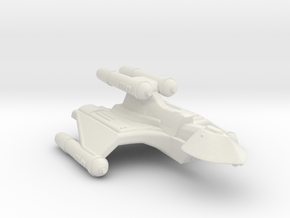 3125 Scale Romulan SuperHawk-K+ Command Cruiser MG in White Natural Versatile Plastic