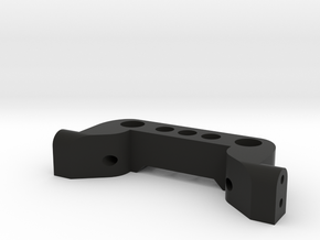 TRX-4 to HPI Venture FJ - Rear Bumper Mount in Black Natural Versatile Plastic