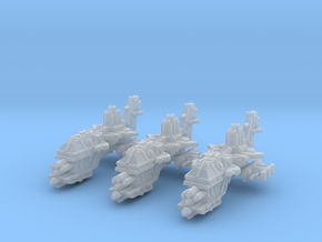 Savage Gunships (3) in Smooth Fine Detail Plastic