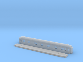 ACo2c - Swedish passenger wagon in Smooth Fine Detail Plastic