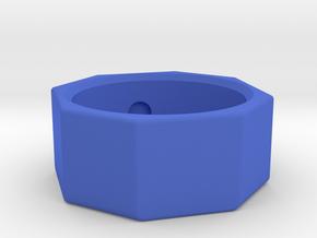 90D lens body SLS in Blue Processed Versatile Plastic