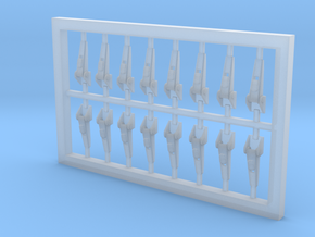 Latches for maintenance bays (Superscale 700) in Smooth Fine Detail Plastic