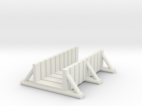 foot bridge 5cm low in White Natural Versatile Plastic