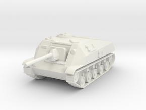 SU-76D  1:72 in White Strong & Flexible