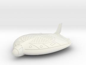 (1:144) Focke-Wulf VTOL Project in White Natural Versatile Plastic