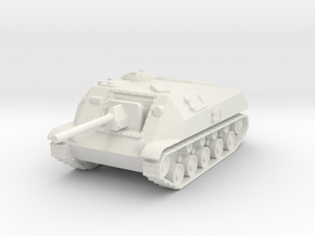 SU-76D  1:87 in White Strong & Flexible