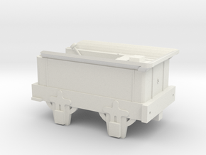 00 Scale Coppernob Tender (motorised) scratch-aid in White Natural Versatile Plastic