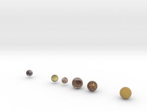 Major Moons, 1:1 billion in Full Color Sandstone