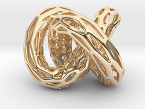 DRAGON Structura, Bold Pendant  in 14K Yellow Gold