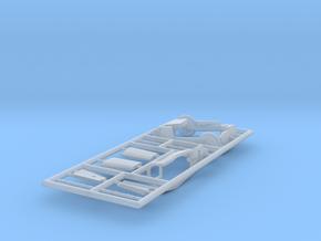 FJ4B-144scale-5-PartFret4 in Smooth Fine Detail Plastic