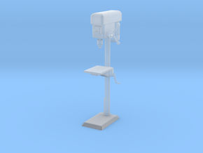 Column Drill, standing model in Smooth Fine Detail Plastic