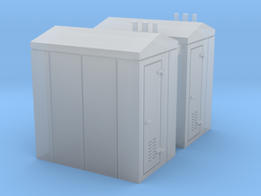 N Scale 2x Relay Shed 2 in Smooth Fine Detail Plastic