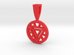 ARC REACTOR in Red Processed Versatile Plastic