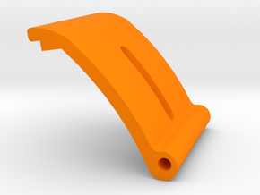 Lok External mast gate plate with slot & Hinge in Orange Processed Versatile Plastic