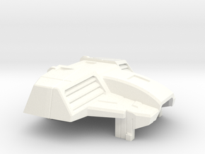 Kfir Heavy Interceptor Chestplate for PoTP Starscr in White Processed Versatile Plastic