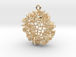 Bloom Pendant in 14K Yellow Gold