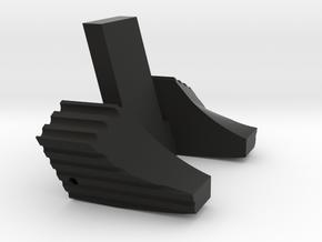 PTS Masada extended bolt release in Black Natural Versatile Plastic