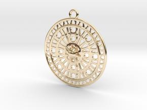 Celtic Ornament, Sanctuary of Hera, Greece (ring) in 14K Yellow Gold: Medium