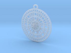 Celtic Ornament, Sanctuary of Hera, Greece (ring) in Smooth Fine Detail Plastic: Extra Large