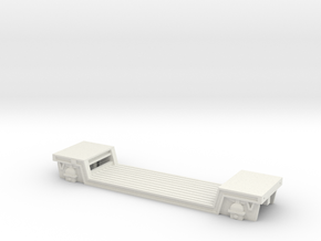 00 Scale GWR Loriot Y Machinery Wagon in White Natural Versatile Plastic